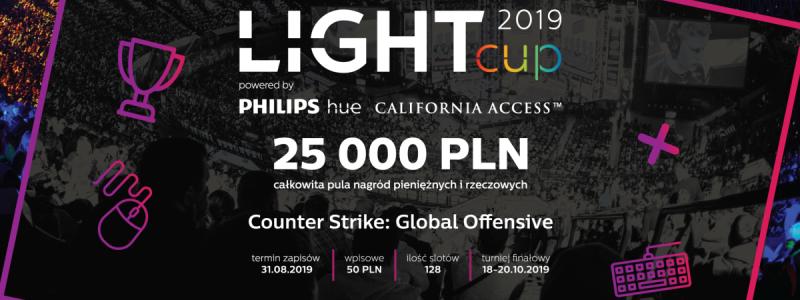 Light Cup 2019 - turniej Counter Strike z finałem na PGA!